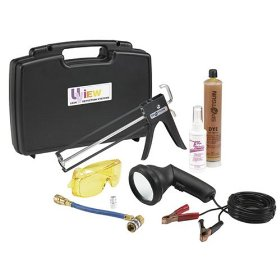Show details of UVIEW 415400 Spotgun Mega-Lite Leak Detection Kit.