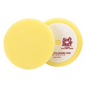 Show details of Meguiar's W8000 8-Inch Soft Buff Foam Polishing Pad.