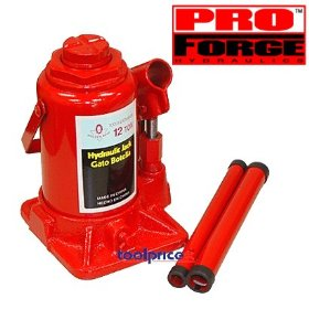 Show details of 12 Ton Hydraulic Bottle Jack.