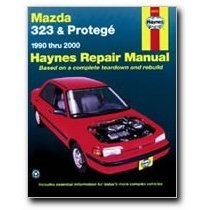 Show details of Haynes Mazda 323 and Proteg (90 - 00) Manual.