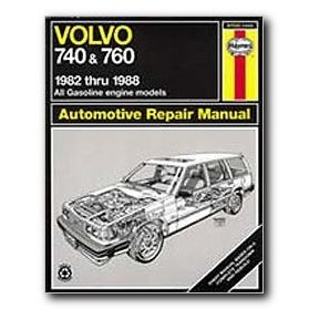 Show details of Haynes Volvo 740 and 760 Series (82 - 88) Repair Manual.