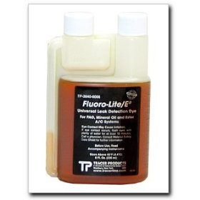 Show details of Tracerline Fluoro-Lite Universal Bottled A/C Dye, 8 oz. bottle.