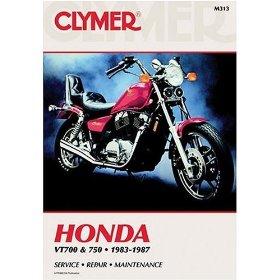Show details of CLYMER HON VT700/750 M313.