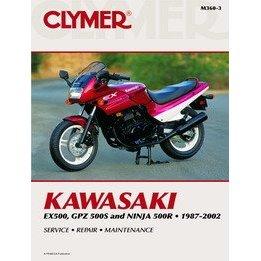 Show details of CLYMER KAW EX500/GPZ500S M3603.