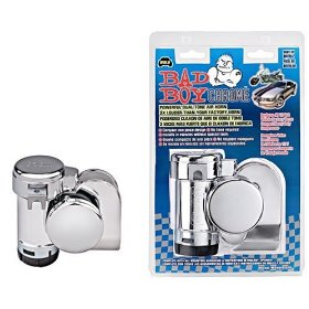 Show details of WOLO 519 Bad Boy Chrome Dual Tone Air Horn.