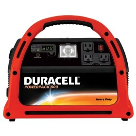 Show details of Duracell DPP-600HD Powerpack 600 Jump Starter & Emergency Power Source with Radio.