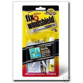 Show details of Fix-A-Windshield, Do-It-Yourself Windshield Repair Kit.