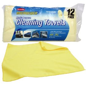 Show details of Clean-Rite Microfiber Cleaning Towels 12-pack.