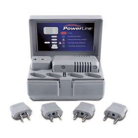 Show details of PowerLine 0900-27 Global Power Travel Kit.