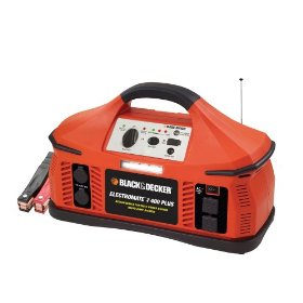 Show details of Black & Decker PS400JRB Electromate 400 Plus Jump-Starter with Built-In Radio.