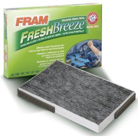 Show details of FRAM CF10134 Fresh Breeze Cabin Air Filter.