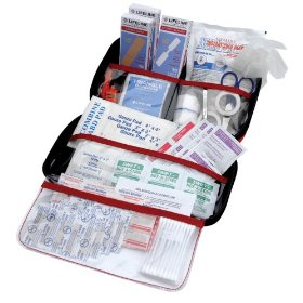 Show details of AAA 121-Piece Road Trip First Aid Kit.