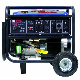 Show details of Eastern Tools & Equipment TG8250 8,250 Watt 13 HP 420cc 4-Cycle OHV Gas Powered Portable Generator with Electric Start (Non-CARB Compliant).