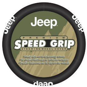Show details of Officially Licensed Jeep Steering Wheel Cover.