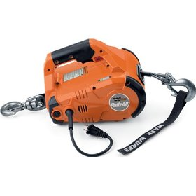 Show details of Warn Works 685000 PullzAll Hand-Held Electric Pulling Tool, Corded Version, 1,000 lb capacity.