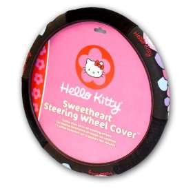 Show details of Officially Licensed Hello Kitty Steering Wheel Cover.