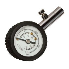 Show details of Accutire MS-5012 Mini Dial Tire Gauge 10 - 60 PSI.