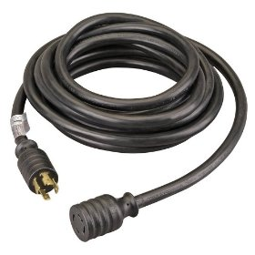 Show details of Reliance Controls PC3020 20-Foot 30 Amp Power Cord.