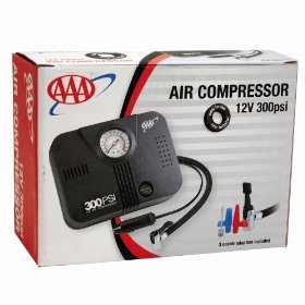 Show details of AAA 300 PSI 12 Volt DC Air Compressor.