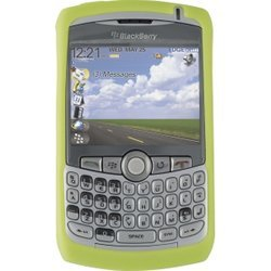 Show details of BLACKBERRY (363344) RIM BlackBerry 363344 (HDW-13840-006) Skin for 8300 CURVE Series - Lime Green.