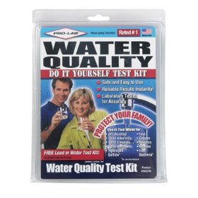 Show details of Pro-Lab Incorporated WQ105 Complete Household Water Quality Test Kit.