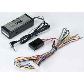 Show details of PAC SWI-JACK Steering wheel control interface for Alpine, Clarion, JVC, and Kenwood.