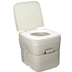 Show details of 5 gal PORTABLE TOILET Outdoor Camping Recreation.