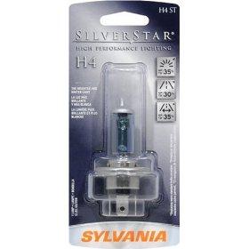 Show details of Sylvania H4ST 3 BP 6 SilverStar High Performance Halogen Headlight Bulb.