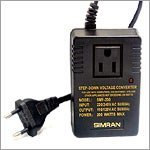 Show details of SIMRAN SMF200 - 200 WATTS STEP DOWN CONVERTER 220V.