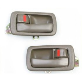 Show details of 92 93 94 95 96 Toyota Camry BROWN 2 Inside door handle 1992 1993 1994 1995 1996 L+R.