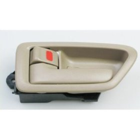 Show details of 97 98 99 00 01 Toyota Camry TAN Inside Left Door Handle 1997 1998 1999 2000 2001 LH.