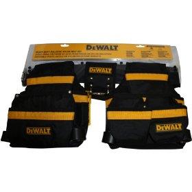 Show details of DEWALT D5100SM Heavy Duty Ballistic Nylon Tool Belt, Waist 28 Inch to 38 Inch.