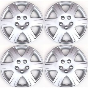 Show details of Set of Four Replica 2005 - 2006 15 inch Toyota Corolla Hubcaps - Wheel Covers.