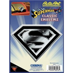Show details of Superman Classic Emblemz Decal.