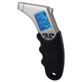 Show details of Accutire MS-4445B Programmable Talking Tire Gauge with Lighted Tip and Storage Case.