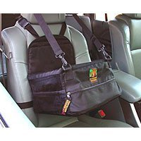 Show details of Pet Lookout Car Booster Seat - Small - Black.
