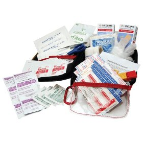 Show details of AAA 85 Piece Commuter First Aid Kit.