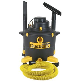 Show details of Dustless Technologies 16003 16 Gallon Dustless Wet Dry Vacuum with 12-Foot-by-1-1/2-Inch Hose.