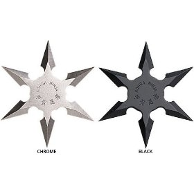 Show details of Gungfu 6 Point Star - Color: Black, Size: 4.25 inches.
