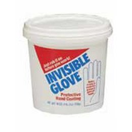Show details of INVISIBLE GLOVE -- 18 OZ. TUB.