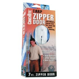 Show details of Tarp -Zipper Door.