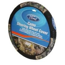 Show details of Officially Licensed Ford Real Tree Camo Steering Wheel Cover.