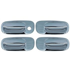 Show details of 2005-2008 Dodge Charger Chrome Door Handle Cover Kit (No Passenger Keyhole).