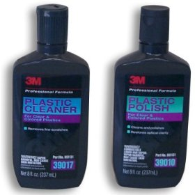 Show details of 3M Plastic Cleaner & Polish Combo.