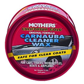 Show details of Mothers 05500 California Gold Carnauba Cleaner Wax Paste - 12 oz.