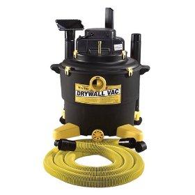 Show details of Love-Less Ash 16004QV 16-Gallon 1-1/2 HP Wet/Dry Drywall Vacuum.