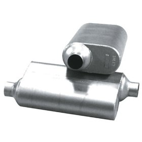 "Show details of Flowmaster 42543 40 Series Delta Flow 2.5"" In/Out Muffler."