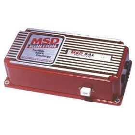 Show details of MSD Ignition 6420 Capacitive Discharge 6AL Ignition with Rev Limiter.