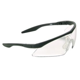 Show details of MSA Safety Works 10021259 Straight Temple Safety Glasses, Clear.
