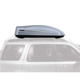 Show details of Thule 686 Atlantis 1600 Rooftop Cargo Box (Silver).